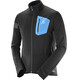 Salomon M's RS Softshell Jacket Black/Hawaiian Surf